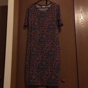 Lularoe Julia dress size Large